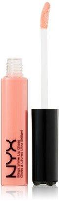 NYX Mega Shine Lip Gloss, Nude Pink, 0.37 Ounce $5 thestylecure.com