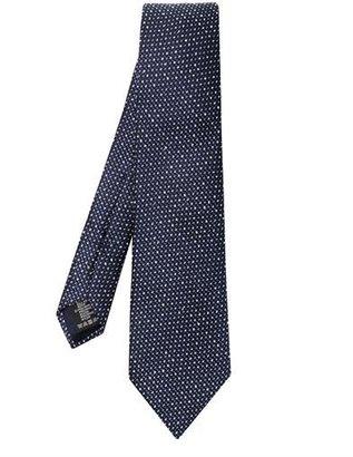 Zegna Optical dot weave tie