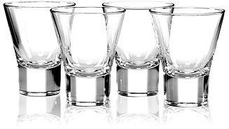 Bormioli CLOSEOUT! Glassware, Set of 6 Ypsilon Stemless Martini Glasses