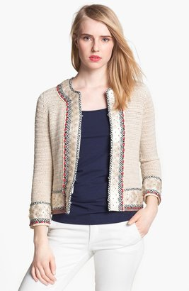 Tory Burch 'Donovan' Embellished Jacket Small