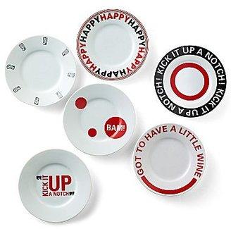 Emerilware Emeril® Set of 6 Canapé Plates