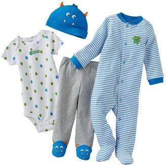 Carter's monster sleep & play set - baby