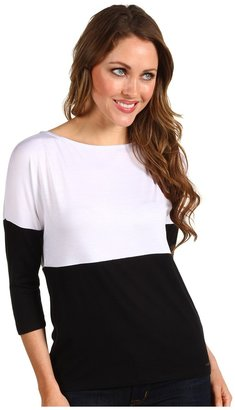 Kenneth Cole New York - Ryan Top (White/Black) - Apparel