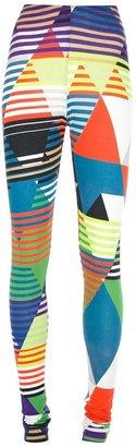 Tiedeken geometric print leggings