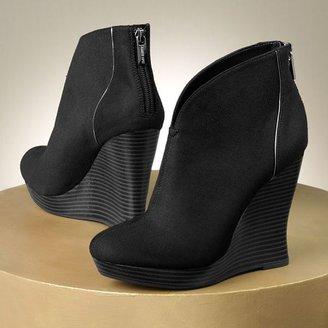 JLO by Jennifer Lopez platform wedge booties - women