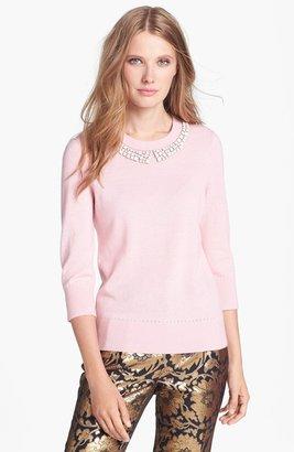 Kate Spade 'avaline' Embellished Sweater