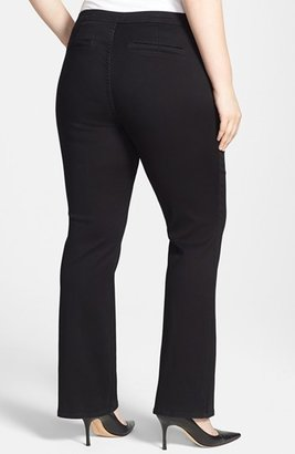 NYDJ Seamed Stretch Straight Leg Jeans (Plus Size)