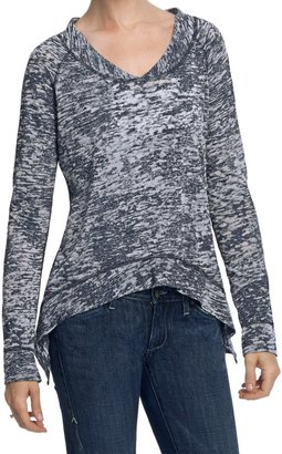 True Grit Slub Cotton Burnout T-Shirt - Long Sleeve (For Women)