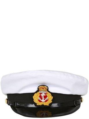 Corto Maltese Twill Cotton Captain's Hat