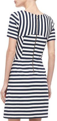 Marc by Marc Jacobs Yuni Striped A-Line Dress