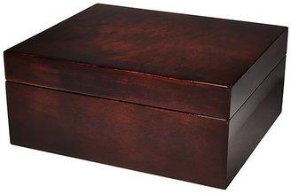 Bloomingdale's Siena Burl Wood Storage Box