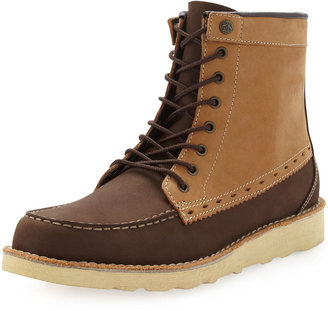 Penguin Grinder Two-Tone Boot