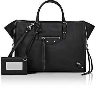 Balenciaga Women's Papier A6 Side-Zip Tote $1,550 thestylecure.com