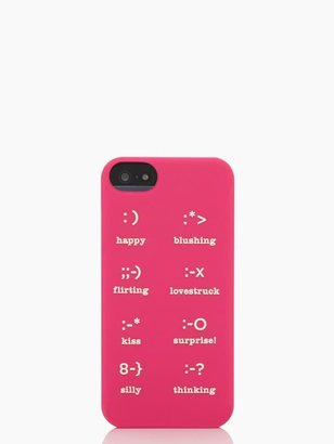 Kate Spade Emoticons silicone iphone 5