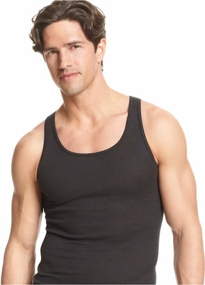 Alfani Men's Underwear, Tagless Tank Top 4 Pack $19.98 thestylecure.com
