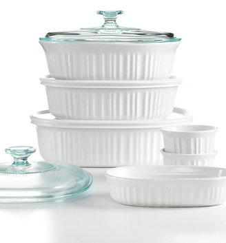 Corningware French White 10 Piece Bakeware Set