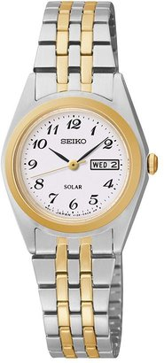 Seiko Women's Solar Expansion Watch $215 thestylecure.com