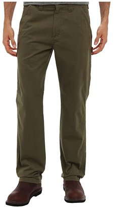 Carhartt Washed Twill Dungaree (Army Green) Men's Jeans
