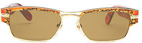 Vintage Sunglasses Replay The Call The Police Sunglasses in Tortoise