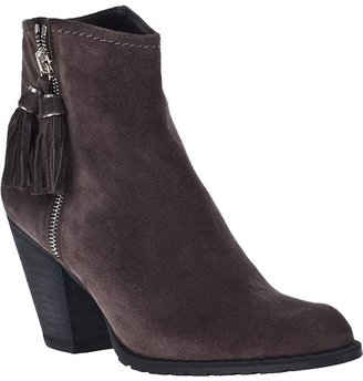 Stuart Weitzman Prancing Ankle Boot Seal Suede