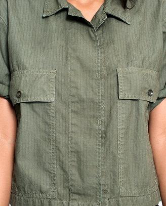Rag and Bone Radar Shirt - Vintage Army Ripstop