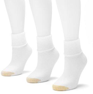 Gold Toe GOLDTOE 3-pk. Ultra Tec Terry-Cuff Socks