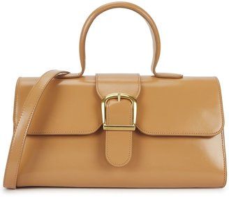 Rylan 1.14 Large Camel Leather Top Handle Bag