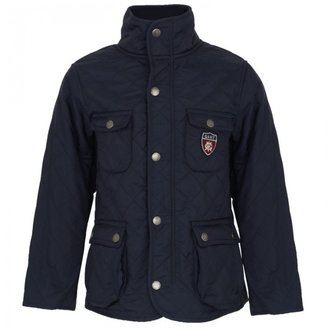 Gant Navy Quilted Chelsea Jacket