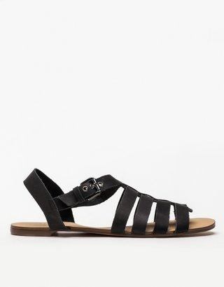 Marais Usa Gladiator Sandal In Black