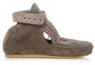 Isabel Marant Morley studded suede ankle boots