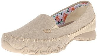 Skechers Women's Bikers Cross Walk Memory Foam Slip-On Moccasin $59.99 thestylecure.com