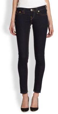 True Religion Casey Low-Rise Super Skinny Jeans