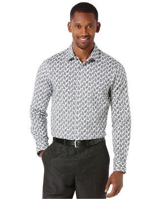 Perry Ellis Long Sleeve Print Shirt