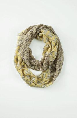 J. Jill Woodblock floral infinity scarf