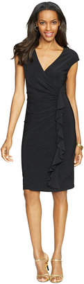 American Living Cap-Sleeve Ruffled Dress $69 thestylecure.com