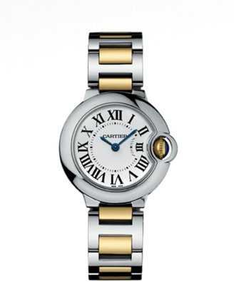 Cartier Ballon Bleu de Small 18K Yellow Gold & Stainless Steel Bracelet Watch