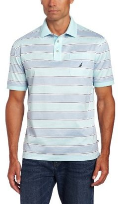 Nautica Men's Wide Stripe Polo