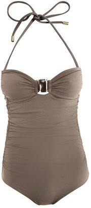 Chloé Ruched side swimsuit
