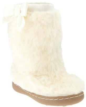 Gap Faux-fur bow boots