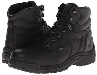 Timberland TITAN(r) 6 Alloy Safety Toe (Blackout Full-Grain Leather) Men's Work Lace-up Boots