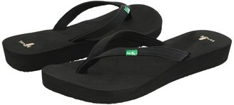 Sanuk Nirvana (Black) - Footwear