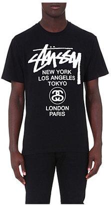 Stussy World tour t-shirt