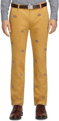 Brooks Brothers Southwest Embroidered Chinos