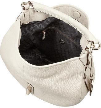 Diane von Furstenberg Sutra Hobo small textured-leather bag