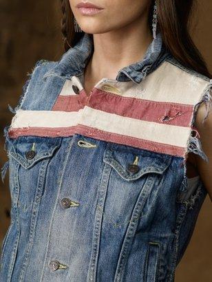 Denim & Supply Ralph Lauren American Flag Vest
