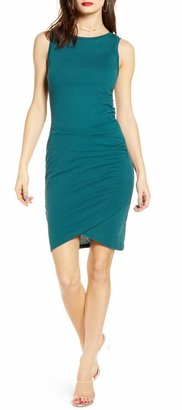 Leith Ruched Body-Con Tank Dress