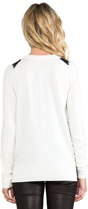 Juicy Couture Lace Inset Cardigan