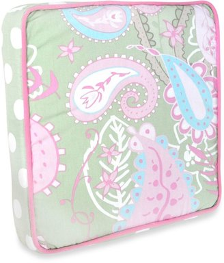 My Baby Sam Pixie Baby Throw Pillow in Pink