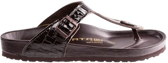 Birkenstock @Model.CurrentBrand.Name Tatami by Gizeh Croco Sandals - Leather (For Women)