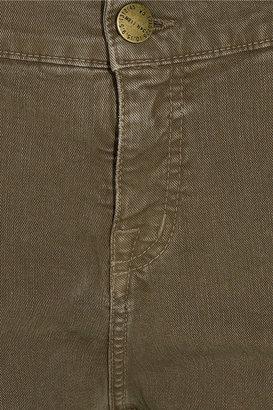 Current/Elliott The Slouch high-rise straight-leg jeans